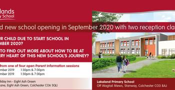 Prospective Parent Information sessions for Lakelands Primary School